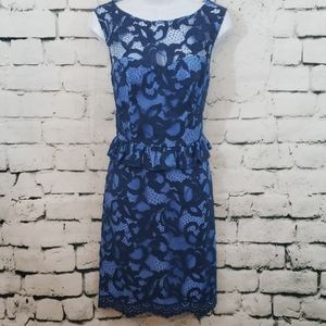 Lilly Pulitzer lace blue dress
